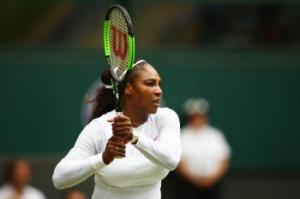Serena Marches On, as Venus Exits Wimbledon