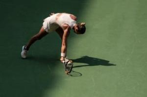 Kanepi Sends Halep Home in First Round of US Open